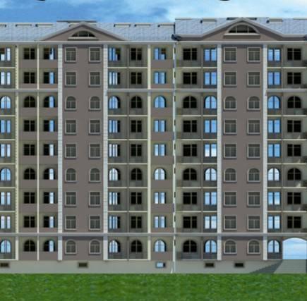 9 mərtəbəli yaşayış binası