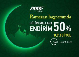 Ramazan endirimi